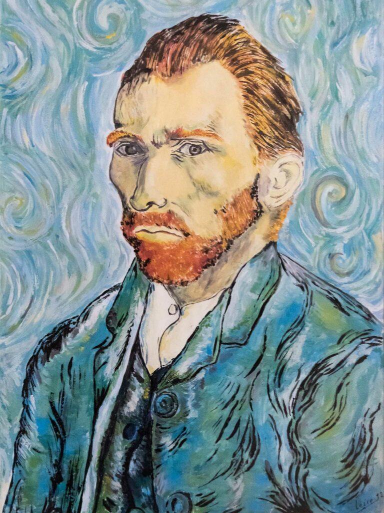 Retrato Van Gogh