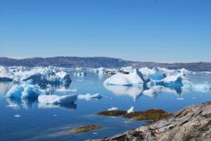 Disminución del hielo en el ártico