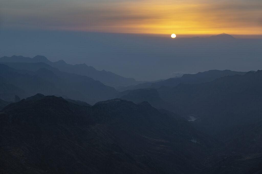 sol en Canarias