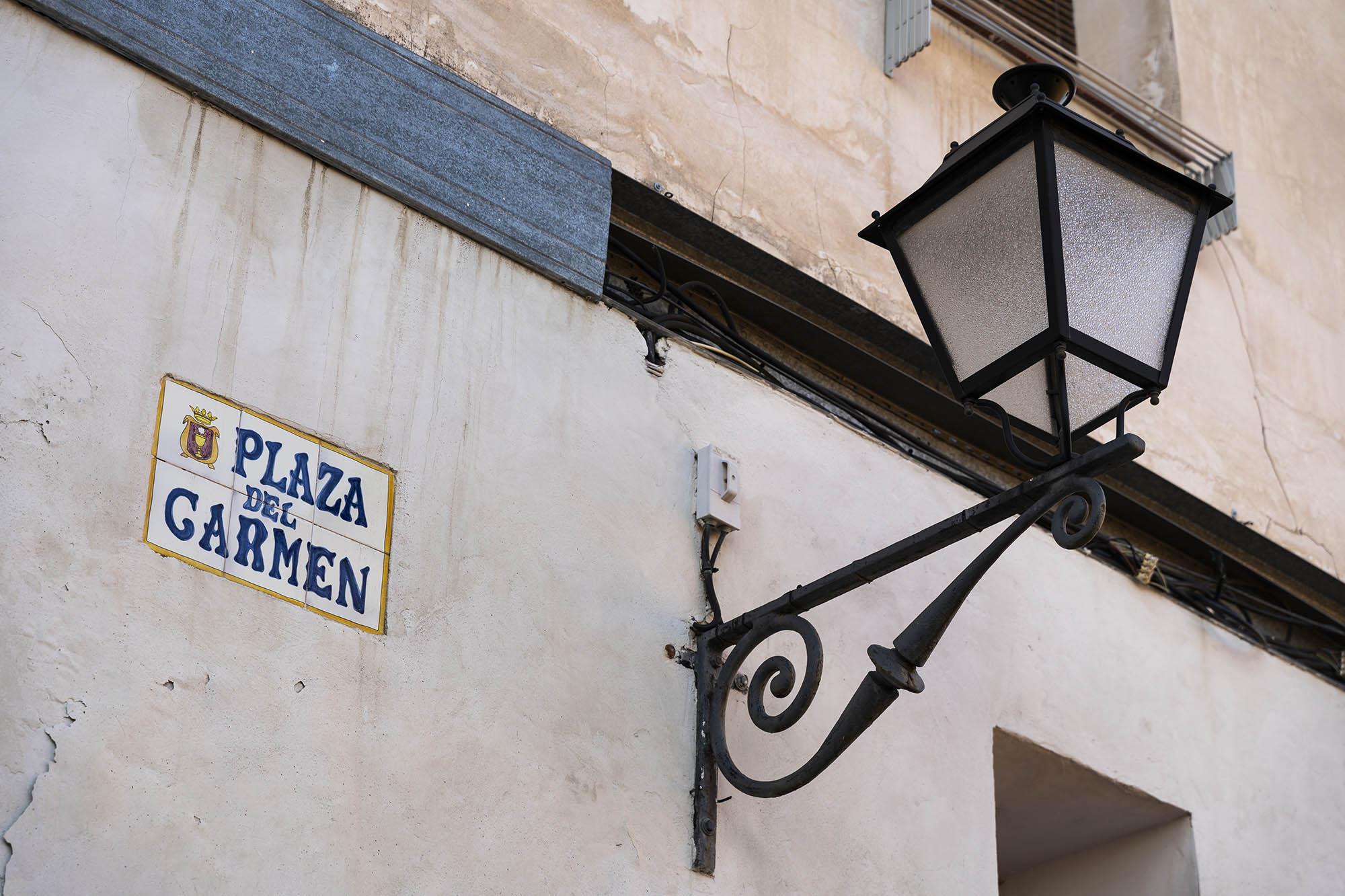 Barrio judío de Cuenca y la Plaza del Carmen